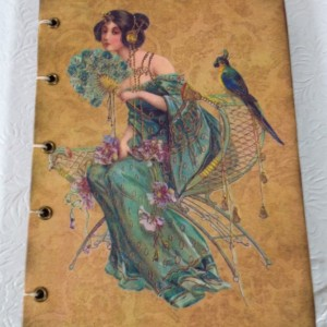 Art Nouveau Lady Journal/Photo Album,