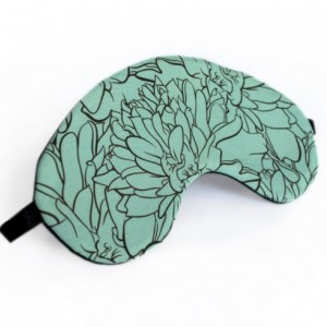 Teal Marigold Sleep Mask