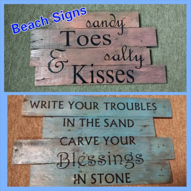 Beach Signs House Sign Wood Wooden