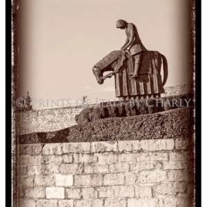 "St Francis Returns from Crusades - 12"" x 18"" Italy print 