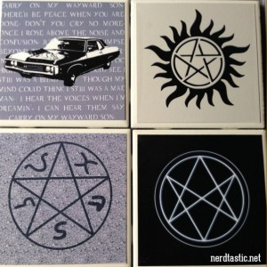 SUPERNATURAL (Set of 4) Coasters