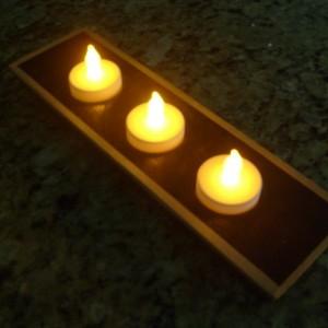 Wooden Tea Light