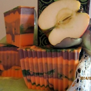 Pumpkin Apple Butter Soap~Goats Milk Soap~Milk And Cream Soap~