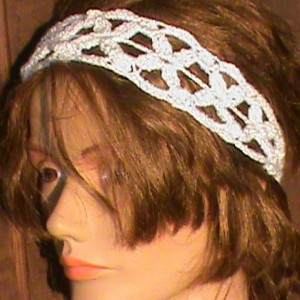 Adjustable Crochet Headband
