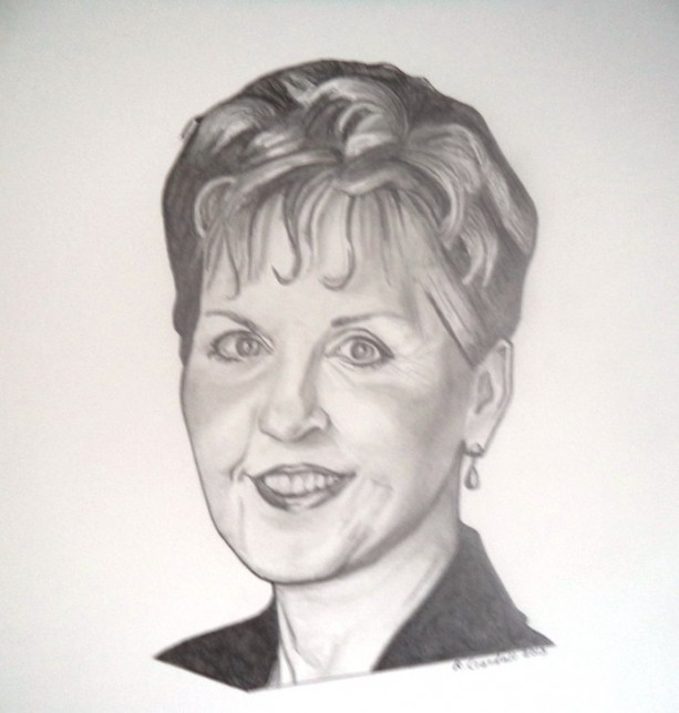 Original Joyce Meyer drawing