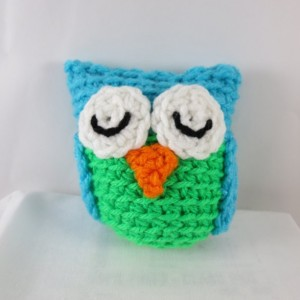 Mini Crochet Owl Plush