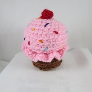 Mini Crochet Cupcake Plushie