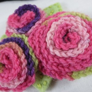 Crocheted Blossom Headband