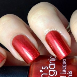 Some Like it Hot - Incredible Red Vegan Nail Polish - 3-free, colored with natural mica
