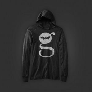 G Design Unisex Long Sleeve Jersey Hoodie Black