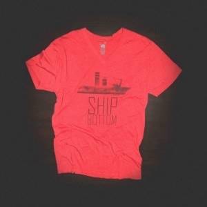 T Shirt Urban V Neck Ship Bottom for Men and Women