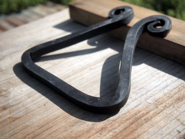 Hand Forged Trivet for Dutch Oven