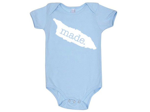 Aruba 'Made.' Cotton One Piece Bodysuit - Infant Girl and Boy