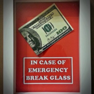 Graduation Party Gift - In Case of Emergency Break Glass - Perfect Gift for the Graduate, Gift for Graduation Party, Gift for Boy or Girl