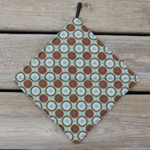 Two Insulated Quilted Pot Holder Hotpad Kitchen Trivet