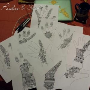 Teach yourself henna - Traceable & Reusable Design Book