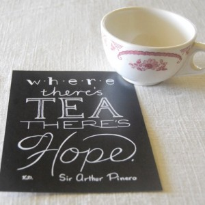 Tea // Typography Print // Tea Quote // Saying for Tea Drinker // Teatime Quote // Tea Lover Quote