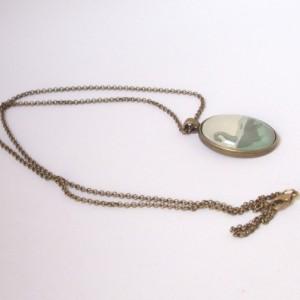 Loch Ness Monster Necklace - Nessie Pendant - Sea Monster