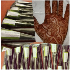100% Natural Henna Paste/Cone - Medium 22g - Qty: 3