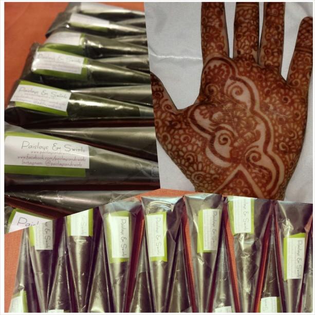 100% Natural Henna Paste/Cone - Medium 22g - Qty: 3