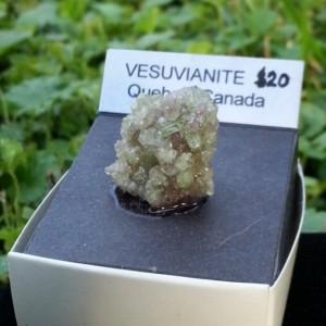 Vesuvianite Gemmy Specimen from Quebec Canada