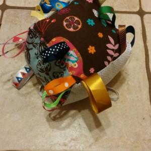 Jingle Bell, Ribbon Baby Blocks