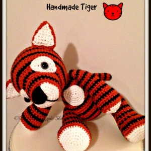 Crochet tiger, handmade stuffed tiger, stuffed animals in handmade, amigurumi tiger, striped tiger, handmade toys, toys in handmade