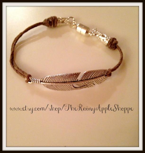 Unique native american charm bracelet, handmade charm bracelet, arrow ch  SI74