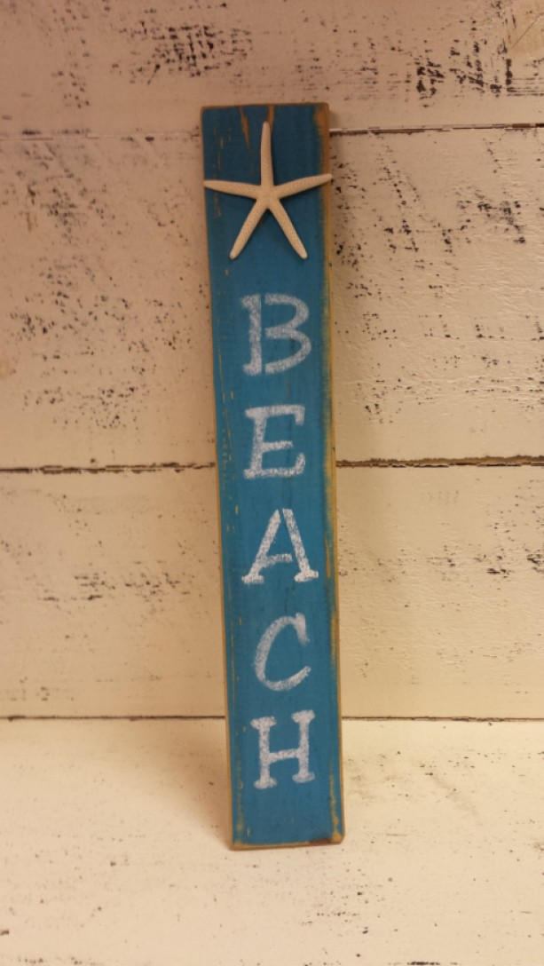 Beach Sign Beachy Signs Wood Wooden