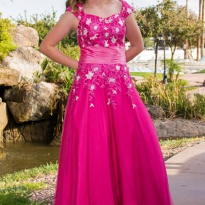 Calista Modest Prom Dress