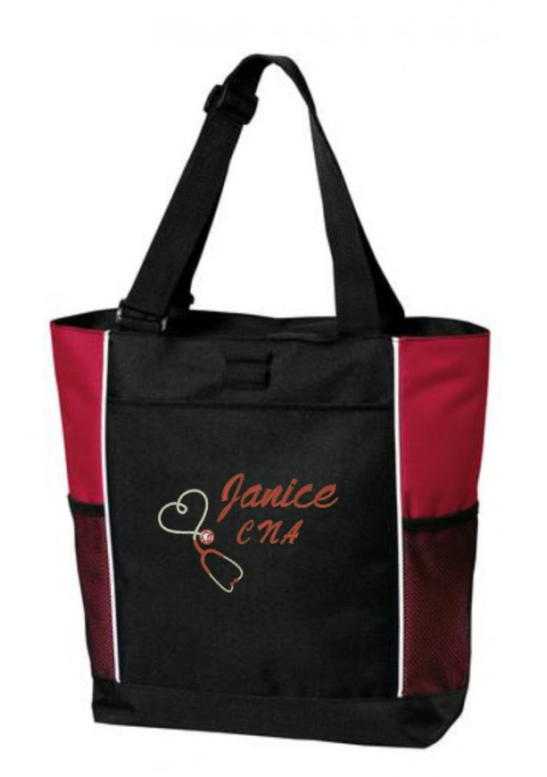 Nurse Tote Bag Personalized Rn Bsn Cna Lpn