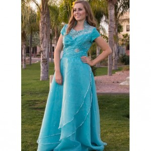 Avril Modest Prom Dress
