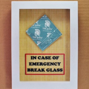 Condom Gift - In Case of Emergency Break Glass - Sex Lover Gift, Gift for Him, Gag Gift, Gift for Husband, Men, Gift for Boyfriend Valentine