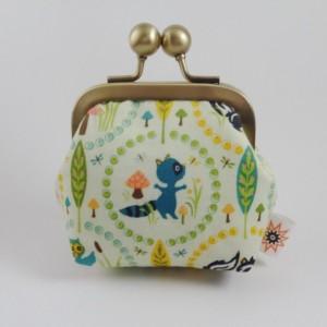 Teeny Tiny Skunk Jewelry Pouch