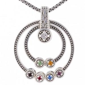Grandmothers Birthstone Necklace