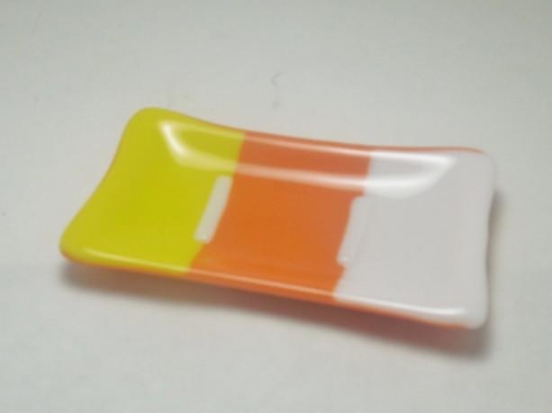 Candy Corn Soap Dish / Halloween Soap Dish