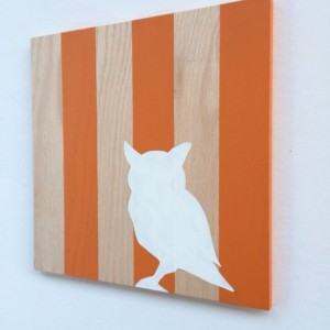 "Woodland Owl Nursery Art - Woodland Nursery Art - Owl Decor - Owl Wall Art - 12""x 12"" - Wood Wall Art"