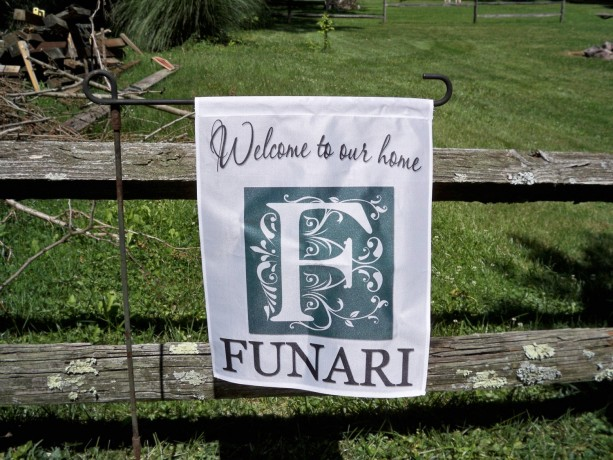 ... Monogram Flags, Garden Flags, Personalized Family Name, Personalized  Flags, ...
