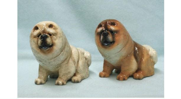 Hevener Collectible Chow Chow Dog Figurine