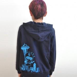 Kid Seattle Ninja  hoodie