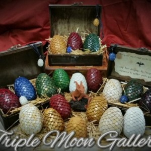 Dragon Eggs, Game Of Thrones, fantasy, Dragon Chest, Khalessi, Mother of Dragons, gift, GOT, dragons, Hobbit, Pern, Harry Potter, lotr
