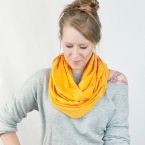 Yellow Jersey Infinity Scarf