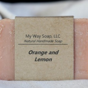 Orange and Lemon Soap - Handmade Soap, All Natural Soap, Vegan Soap,Cold Process Soap, Organic Soap