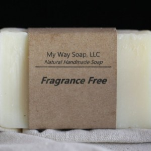 Fragrance Free Soap - Handmade Soap, All Natural Soap, Vegan Soap, Unscented Soap, Organic Soap, Cold Process Soap