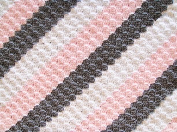Crochet Baby Blanket For Girls Aftcra