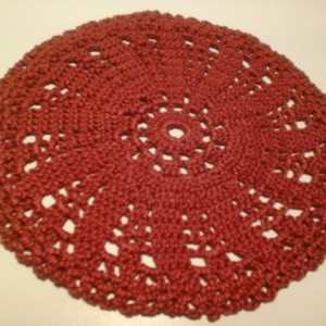 Small Petal doily in 14 Classic Colors