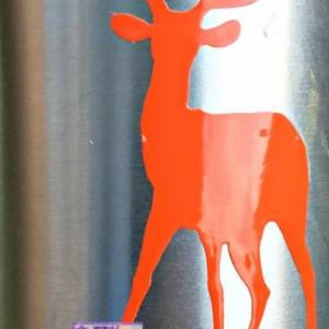 hunting canteen - buck canteen - deer canteen - aluminum canteen - hunter orange- Christmas stocking stuffer