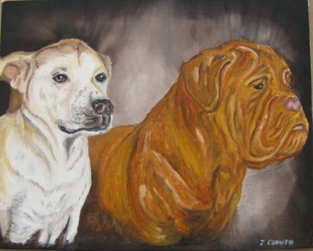 Custom Pet Portrait Oil Painting 11x14 canvas board. Pet oil painting, dog oil painting, cat oil painting, horse oil painting, ooak oil
