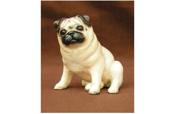 Ron Hevener Collectible Pug Dog Figurine