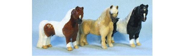 Ron Hevener Collectible Miniature Horse Figurine